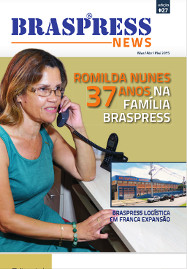 Romilda Nunes 37 anos na família Braspress